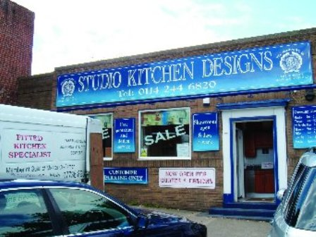 Studio Kitchen Design Business To Include 2 Vans Sign Written and Laptop Compute