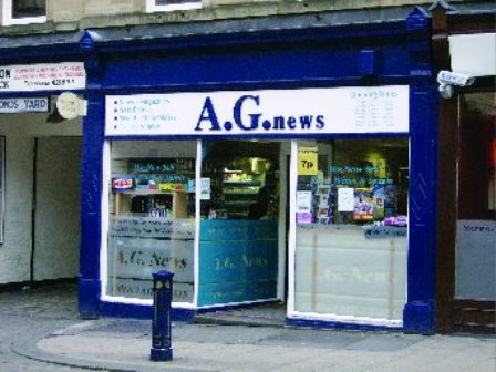 Very Busy News and off Licence Located 