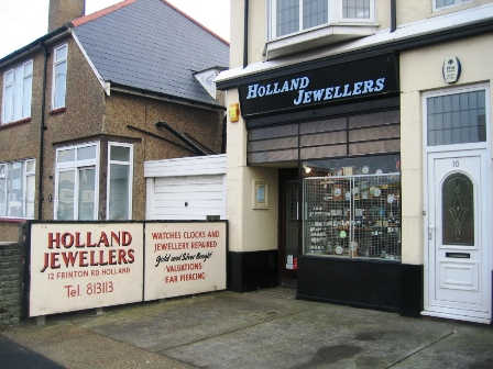 Jewellers Holland-on-sea Essex
