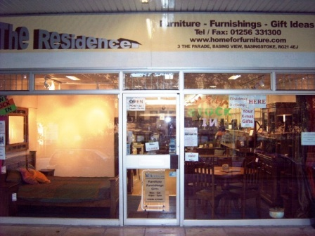 Furniture - Furnishings - Gifts Retail Shop