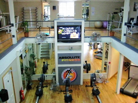 Excellent Leasehold Unisex Gymnasium