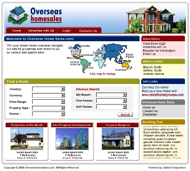 Wwwoverseashomesalescom Is An Online International Property Website
