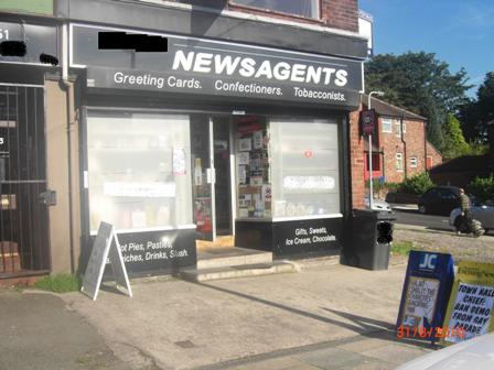 Massively Reduced Newsagents