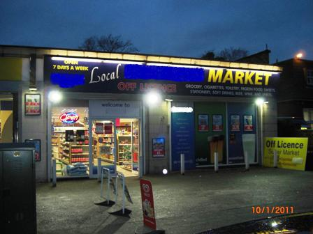 Fantastic Leasehold Stores and off Licence For Sale In Crumpsall North Mancheste