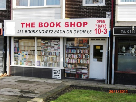 Well Known Book Shop In Whitefield Manchester