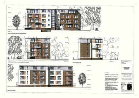Land with Planning Permission For 8 Luxury Apartments Singleton Rd Salford 7