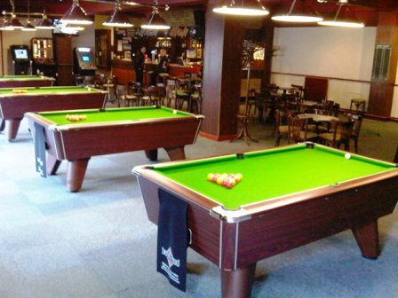 Snooker Pool Darts Music Venue