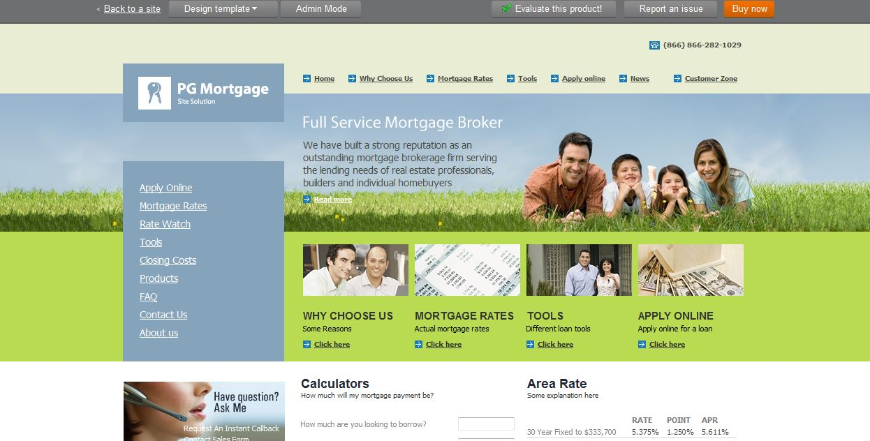Online Mortgage, Real Estate