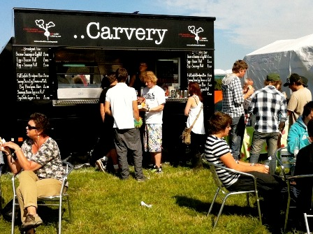 Outdoor Mobile Catering Business