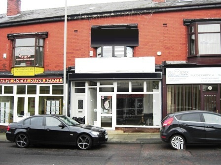 To Let or For Sale Vacant 3 Storey Retail Premises Heywood Lancashire