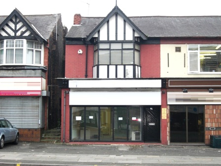 To Let - Two Storey Premises, 54 Bury New Road Prestwich Manchester