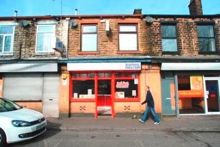 Leasehold Chip Shop with 2 Bed Flat Milnrow Rochdale