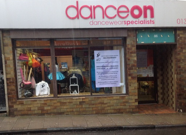 Dance and Sportswear Business - Central Scotland
