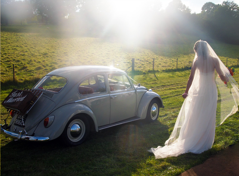 Volkswagen Beetle Wedding Car Hire