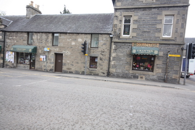 A Prime Corner Trading Location Central To The Ever Popular Town of Kingussie F