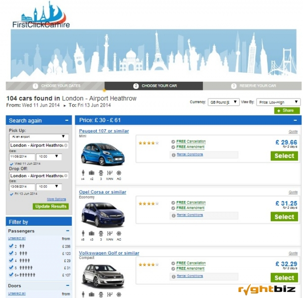 Online Car Hire