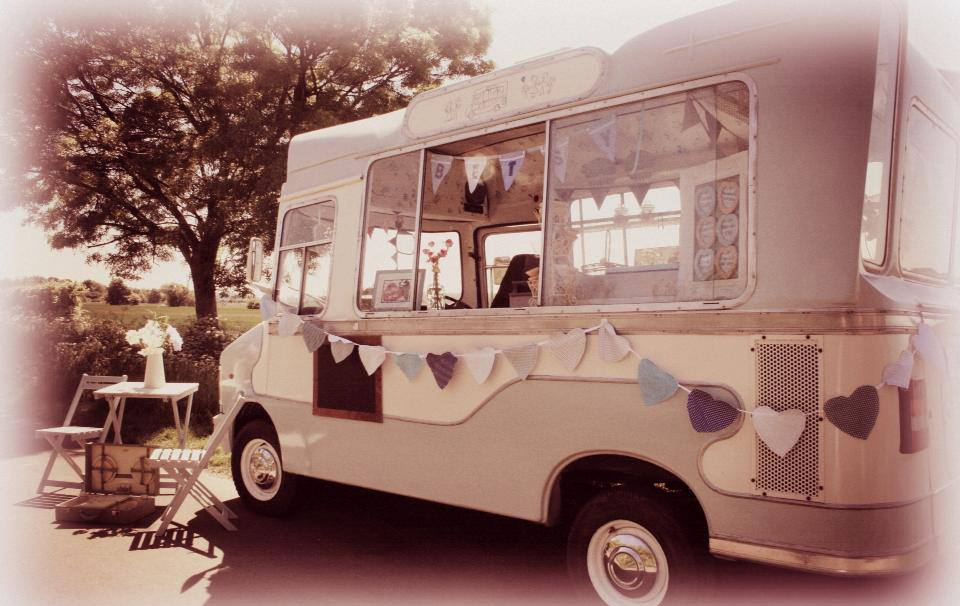 Vintage Ice Cream Van Hire