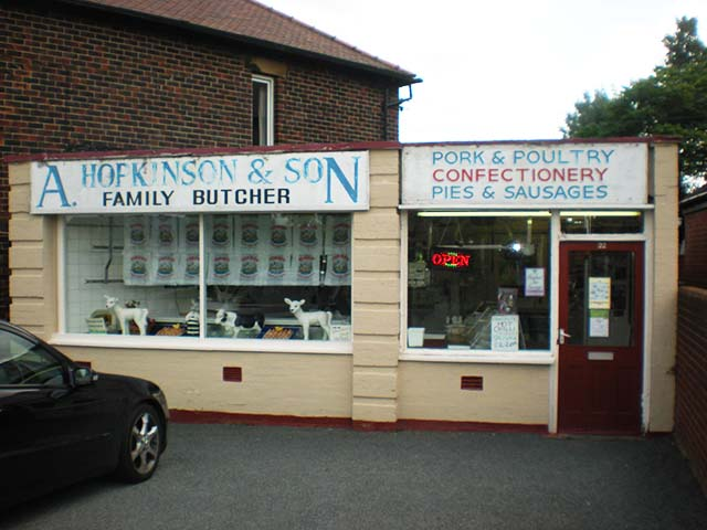 Traditional Butchers Shop