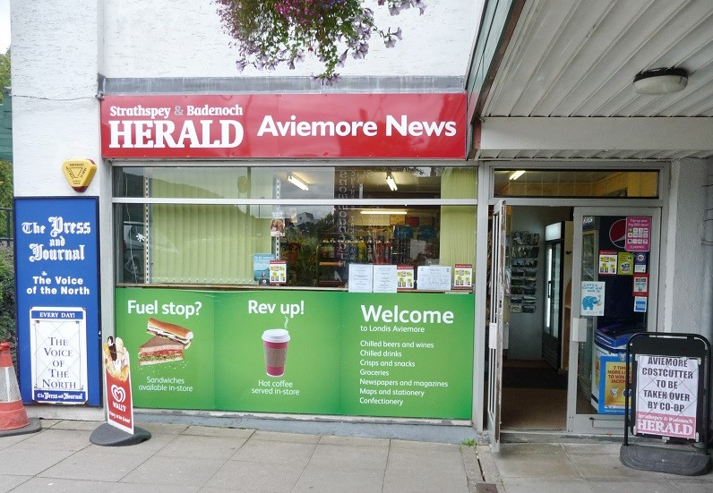 Newsagents, Convenience Store, off Sales For Sale Cairngorm National Park