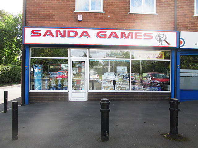 Popular Games Workshop / Model Shop
