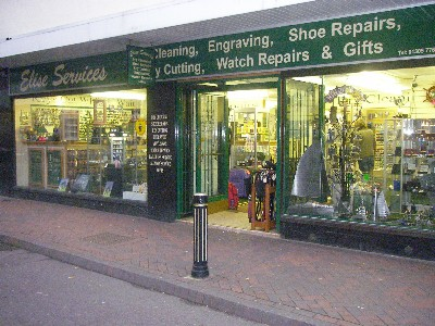 Shoe Repairs, Key Cutting Engraving and Watchrepairs