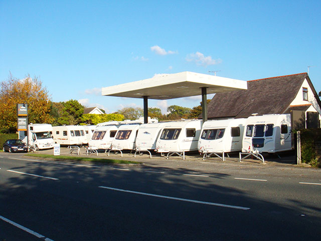 Caravan Sales Business with Family Home