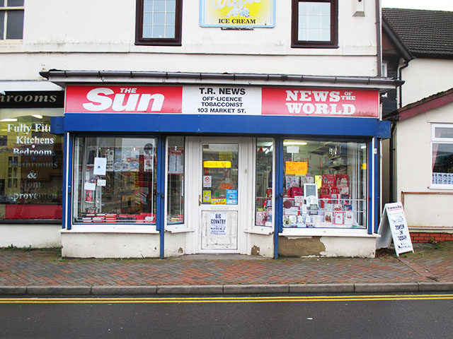 Well Presented Card Store with Newsagents Counter