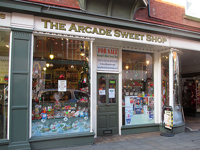 Traditional Town Centre Confectionary Shop