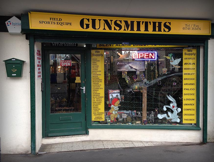 Retail Firearms Dealers For Sale In North Wales