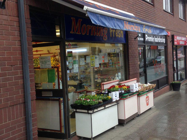 Excellent Town Centre Green Grocers