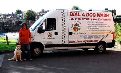 Franchise mobile Dog Grooming Business - Other Services, Dog